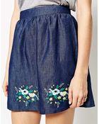 Sugarhill Wild Flower Skirt - Lyst