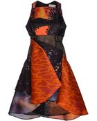 Peter Pilotto Knee-Length Dress - Lyst