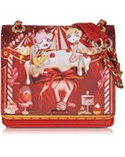 Moschino Love Eco Leather Charming Circus Small Bag - Lyst