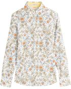 Etro Printed Cotton Shirt - Lyst