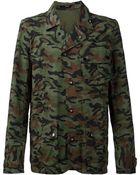 Denham Camouflage Print Jacket - Lyst