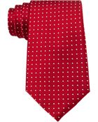 Tommy Hilfiger Red Dots Tie - Lyst