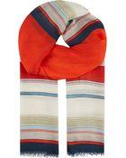 Paul Smith Mainline Stripe Scarf - Lyst