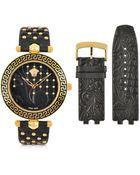 Versace Vanitas Black Women'S Watch - Lyst