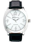 Ben Sherman Black Leather Strap Watch Bs080 - Lyst