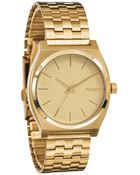 Nixon Time Teller Golden Watch - Lyst