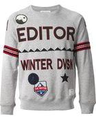 The Editor Logo Sweatshirt - Lyst
