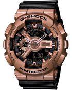 G-Shock Men'S Analog-Digital Black Resin Strap Watch 55X51Mm Ga110Gd-9B2 - Lyst