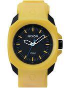 Nixon Ruckus Yellow / Black Watch - Lyst