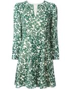 Tory Burch 'Alice' Vine Print Dress - Lyst