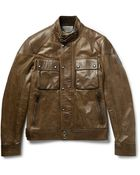 Belstaff Racemaster Leather Jacket - Lyst