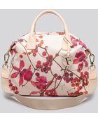 Furla Satchel - Arcadia Medium Floral Nylon - Lyst