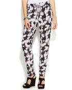 Inc International Concepts Printed Tapered-Leg Soft Pants - Lyst