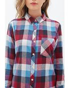 Forever 21 Multi-Color Check Shirt - Lyst