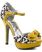 Naughty Monkey Mish Mash - Yellow - Lyst