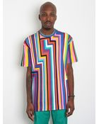 Jil Sander Mens Geometric Striped T Shirt - Lyst