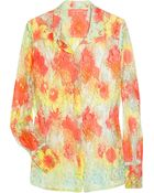 Manoush Tie-dye Lace Shirt - Lyst