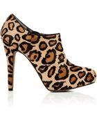 Sam Edelman Leopard Ria Ankle Boot - Lyst