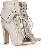 Alexander Wang Freja Leather Ankle Boots - Lyst