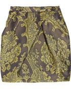 Vivienne Westwood Anglomania Cosmopolitan Brocade Tulip Skirt - Lyst