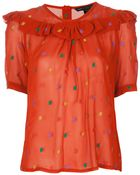 Marc By Marc Jacobs Galena Blouse - Lyst