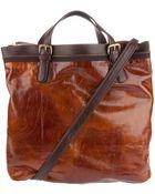 Dries Van Noten Leather Bag - Lyst