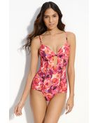 Nanette Lepore Floral Lover One Piece Swimsuit - Lyst