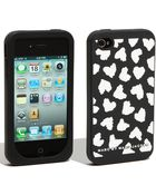 Marc By Marc Jacobs Wild At Heart Iphone 4 Case - Lyst