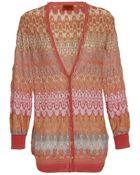 Missoni Nada Wool-blend Crochet Knit Cardigan - Lyst