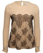 Jason Wu Floral Lace Tee - Lyst