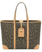 Mulberry Leopard Print Scotchgrain Tote Handbag Multi - Lyst