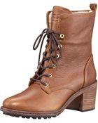 Hunter Marisa Shearling Boot - Lyst
