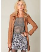 Free People Convertible High Low Ruffle Skirt - Lyst