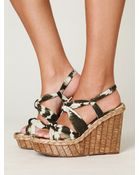 Free People Bacoli Wedge - Lyst