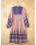 Free People Vintage Cotton Boho Dress - Lyst