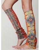 Free People Aztec Legwarmer - Lyst