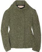 Marni Wool-blend Tweed Jacket - Lyst