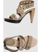 Tod's Tods - High-heeled Sandals - Lyst