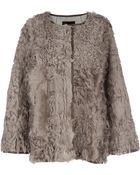 Isabel Marant Collarless Coat - Lyst