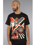 Obey The Futurismo Basic Tee in Black - Lyst