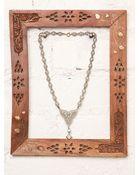 Free People Vintage Rhinestone Necklace - Lyst