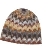 Missoni Striped Knit Wool Hat - Lyst