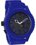 Nixon The 51-30 Rubber Watch - Lyst