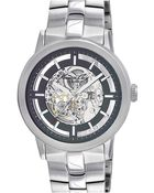Kenneth Cole Automatic Bracelet Watch - Lyst