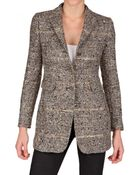 Tagliatore 0205 Lurex Wool Boucle Jacket - Lyst