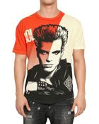 D&G Billy Idol Printed Jersey T-shirt - Lyst