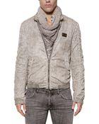 Dolce & Gabbana Nylon Jersey Sport Jacket - Lyst