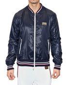Dolce & Gabbana Reversible Nylon Sport Jacket - Lyst