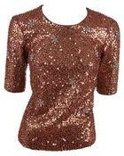 Donna Karan New York Short sleeve top - Lyst