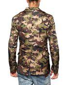 DSquared2 Camouflage Nylon Jacket - Lyst